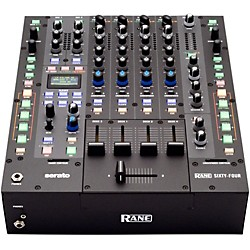 rane Sixty-Four 4-Channel DJ Mixer with Serato DJ Software (USED004000 Sixty-Four)