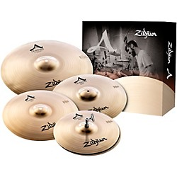 "zildjian A Custom Cymbal Pack with Free 18"" A Custom Crash (A20579-11)"