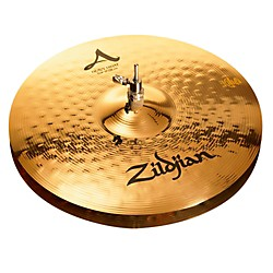 zildjian A Series Heavy Hi-Hat Cymbal Pair Brilliant (A0156)