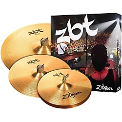 "zildjian ZBT 3 Starter Bonus Cymbal Pack with Free 14"" Crash (ZBTS3P-9)"