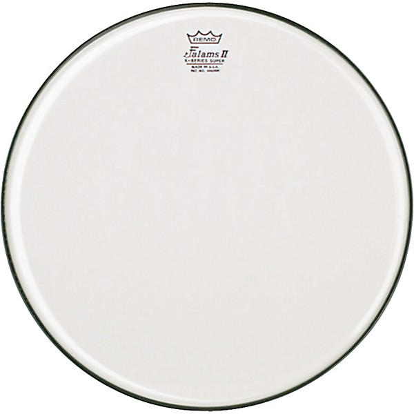 remo k falam smooth white snare side drum head music arts. Black Bedroom Furniture Sets. Home Design Ideas