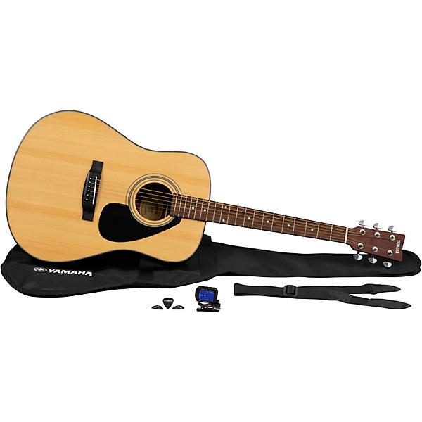 yamaha gigmaker acoustic guitar pack music arts. Black Bedroom Furniture Sets. Home Design Ideas
