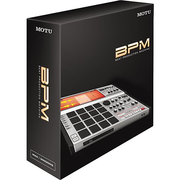 motu bpm beat production machine virtual instrument music arts. Black Bedroom Furniture Sets. Home Design Ideas