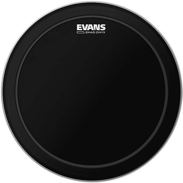 evans emad onyx bass batter drumhead music arts. Black Bedroom Furniture Sets. Home Design Ideas