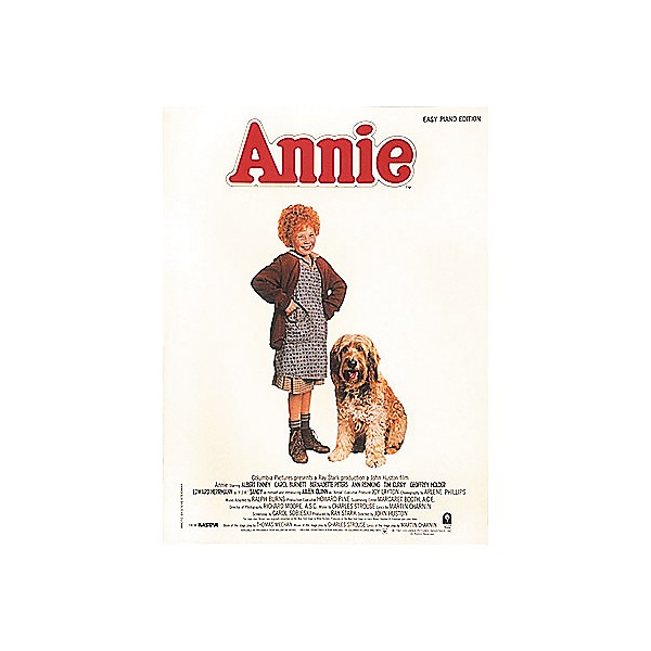 Hal Leonard Annie Movie Selections for Easy Piano