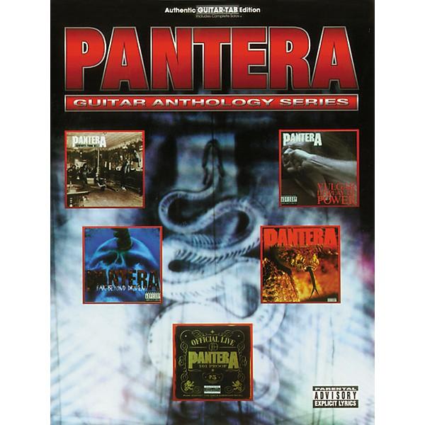 GUITAR ANTHOLOGY TAB MUSIC SONG BOOK PANTERA