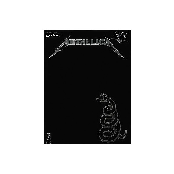 Metallica Black Album Guitar Book