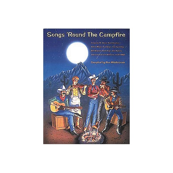 Centerstream Publishing Songs 'Round The Campfire Guitar Tab Songbook