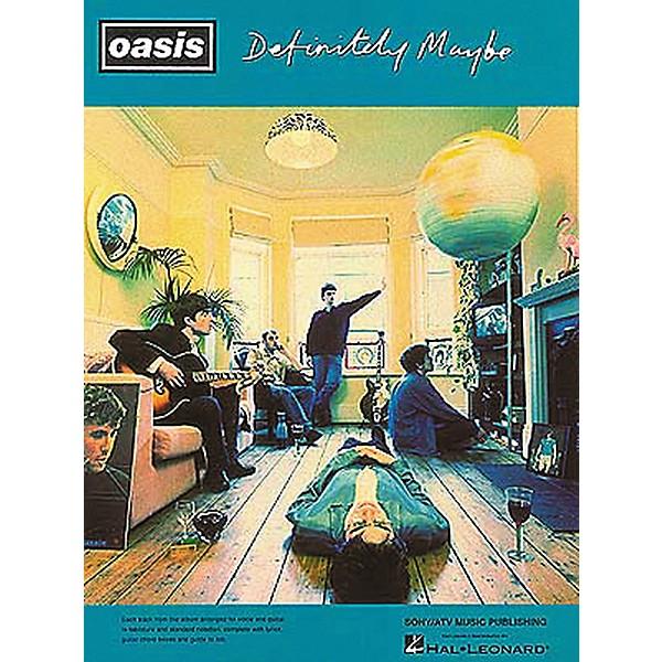 Hal Leonard Oasis Definitely Maybe Guitar Tab Songbook