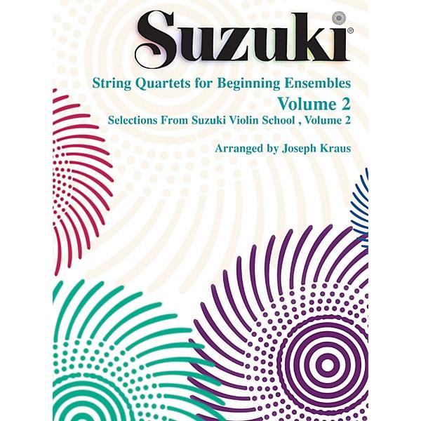 Suzuki String Quartets for Beginning Ensembles