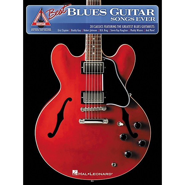 Hal Leonard The Best Blues Guitar Songs Ever Guitar Tab Songbook