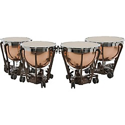 adams professional series generation ii polished copper timpani set