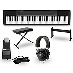 casio cdp 135 digital piano package music arts. Black Bedroom Furniture Sets. Home Design Ideas