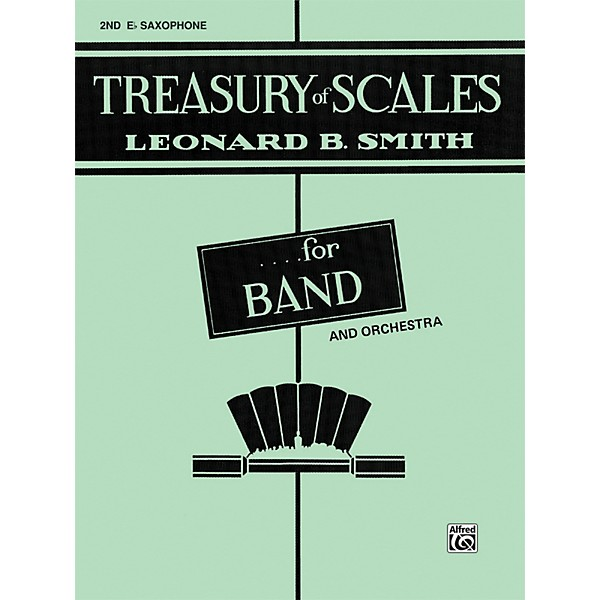 Alfred Treasury Of Scales For Band And Orchestra 2nd E Flat Alto
