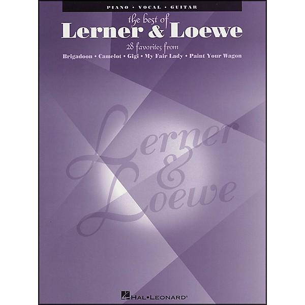 Hal Leonard Best Of Lerner & Loewe arranged for piano, vocal, and guitar  (P/V/G)