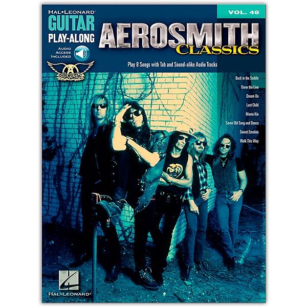 Guitar Play-Along Volume 48: Aerosmith Classics Guitar Tab, Guitar Sheet Music,