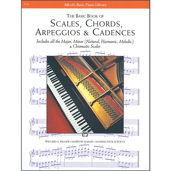 Alfred Scales Chords Arpeggios Cadences Basic Book Piano