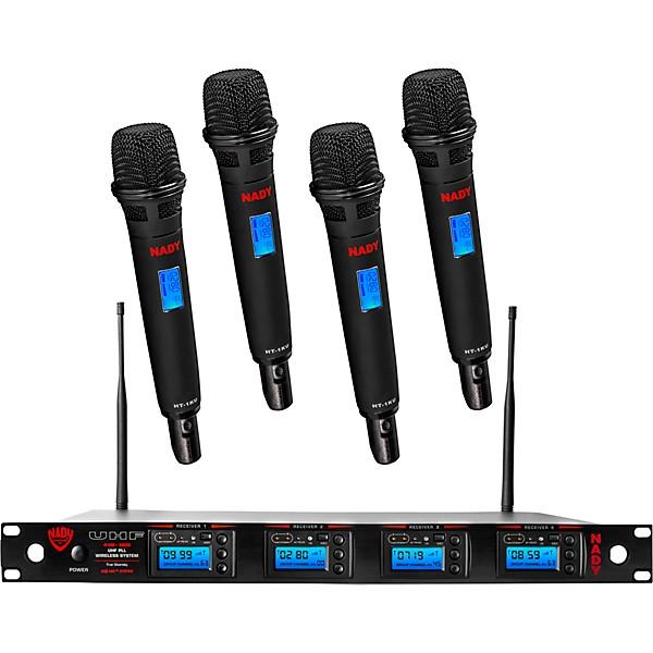 Nady Nady 4W-1KU-HT, 1000-channel Professional Handheld Wireless System