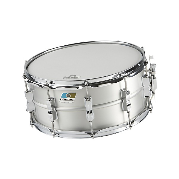 ludwig acrolite classic aluminum snare drum music arts. Black Bedroom Furniture Sets. Home Design Ideas
