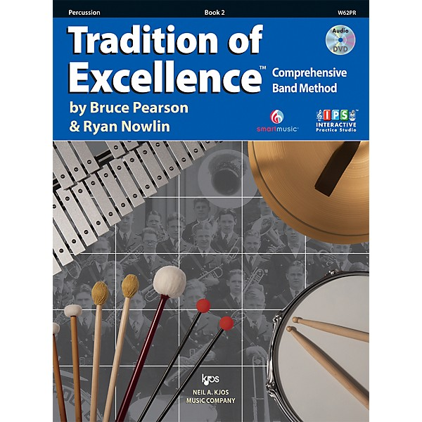 Book 2 KJOS W62PR Tradition of Excellence Percussion