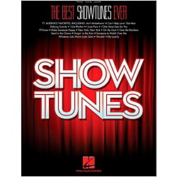 hal leonard the best showtunes ever for piano vocal guitar