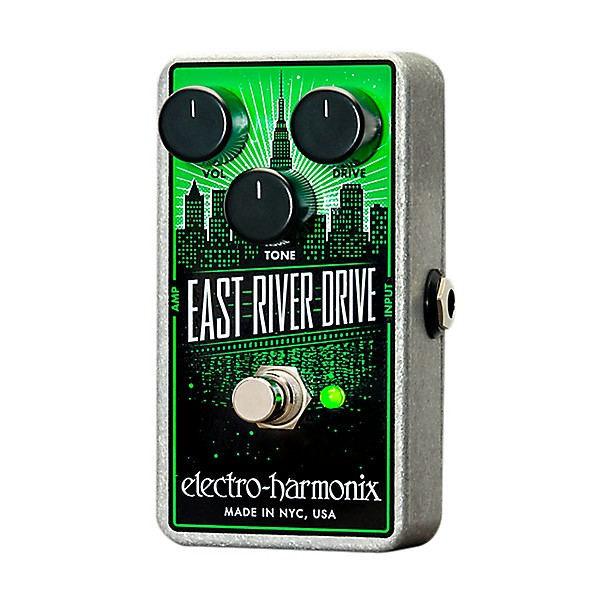 electro harmonix east river drive overdrive guitar effects pedal music arts. Black Bedroom Furniture Sets. Home Design Ideas