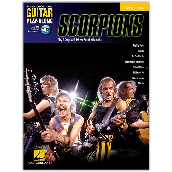 Scorpions Guitar Tab Book