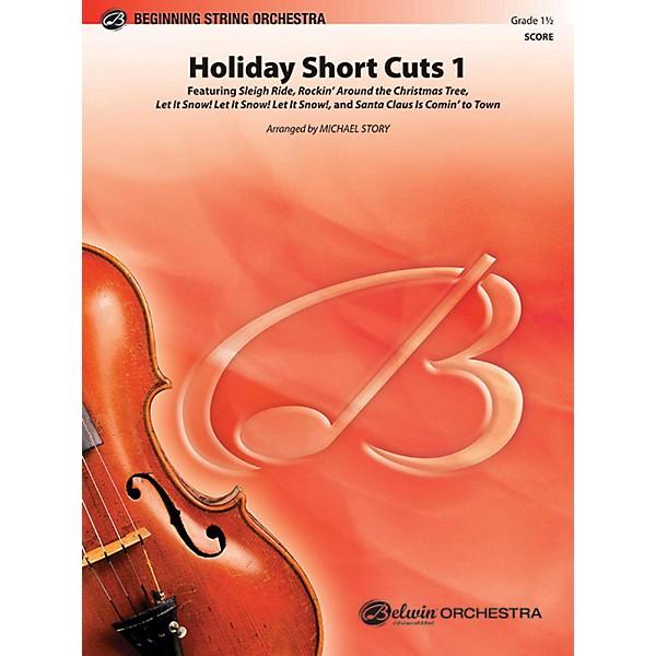 Alfred Holiday Short Cuts 1 String Orchestra Grade 1 5