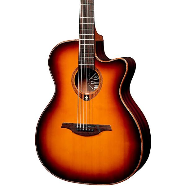 Lag Guitars Tramontane T100ace Auditorium Cutaway Acoustic Electric Guitar Music Arts