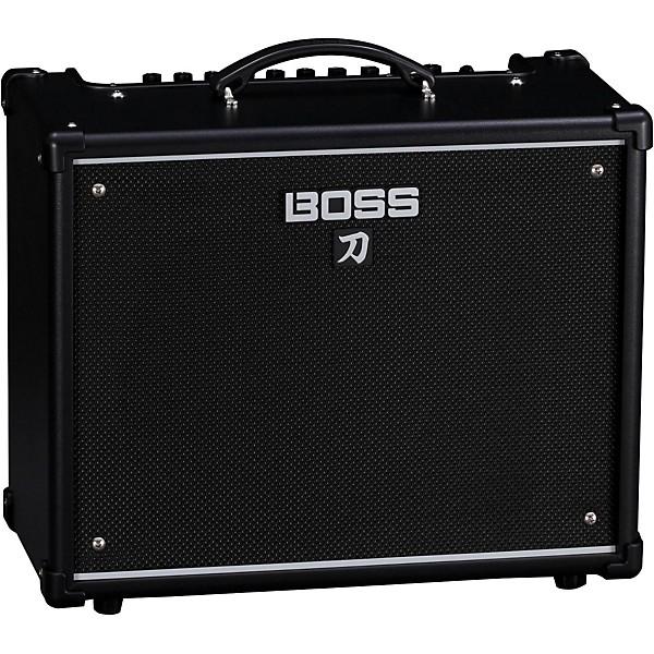 boss katana ktn 50 50w 1x12 guitar combo amplifier music arts. Black Bedroom Furniture Sets. Home Design Ideas