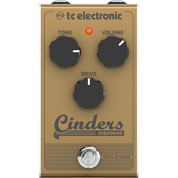 tc electronic cinders overdrive effects pedal music arts. Black Bedroom Furniture Sets. Home Design Ideas