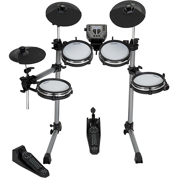 simmons sd350 electronic drum kit with mesh pads music arts. Black Bedroom Furniture Sets. Home Design Ideas