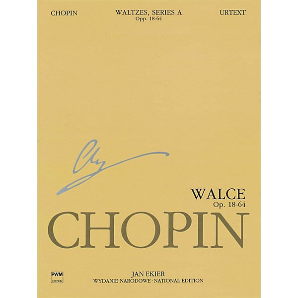 PWM Waltzes Op  18, 34, 42, 64 (Chopin National Edition 11A, Volume XI) PWM  Series Softcover