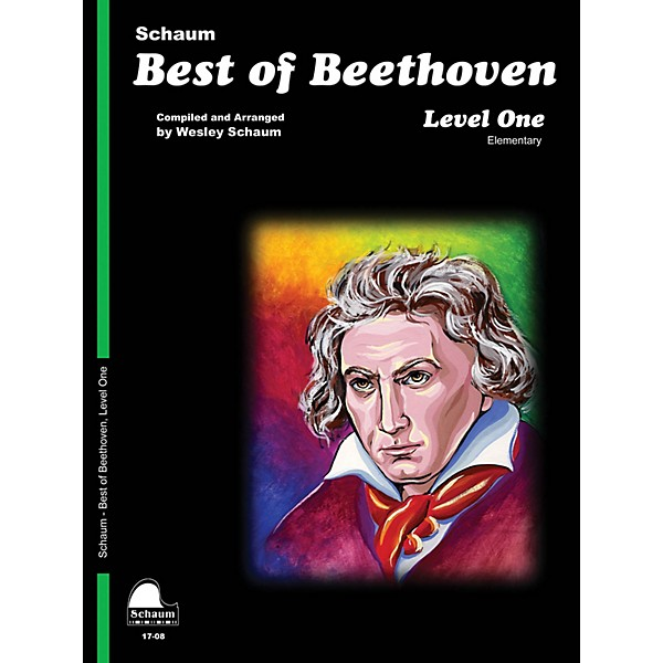 Schaum Best of Beethoven (Level 1 Elem Level) Educational Piano Book by  Ludwig van Beethoven