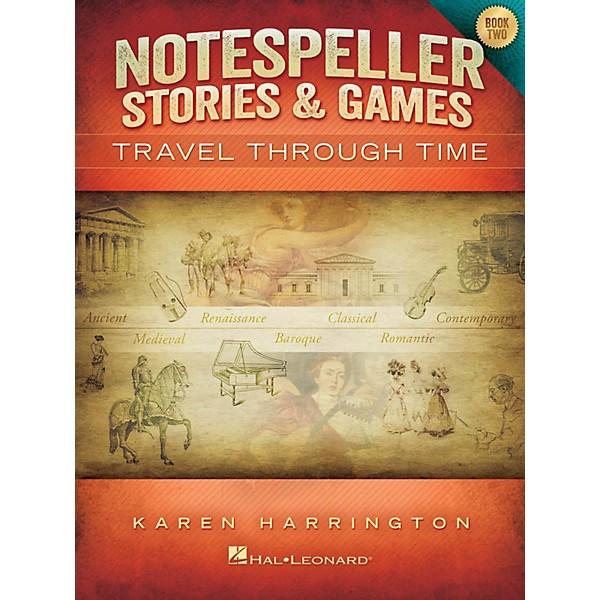 Hal Leonard Notespeller Stories & Games - Book 2 Piano Library Series Book  by Karen Harrington (Level Inter)