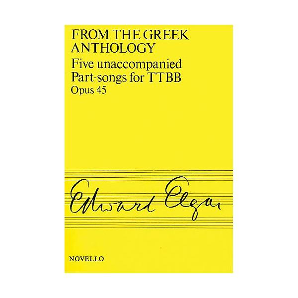 Novello Five Unaccompanied Part-Songs for TTBB - Op  45 TTBB A Cappella  Composed by Edward Elgar