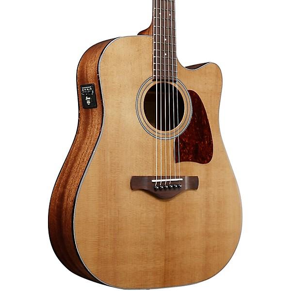 katsella hyvännäköinen tehdasmyymälät Ibanez AVD9EVNT Artwood Vintage Thermo Aged Series Acoustic-Electric  Dreadnought Guitar