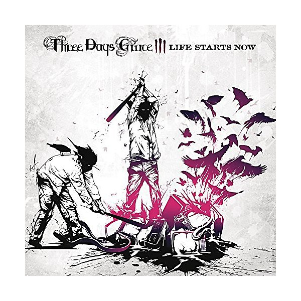 Alliance Three Days Grace Life Starts Now Music Arts