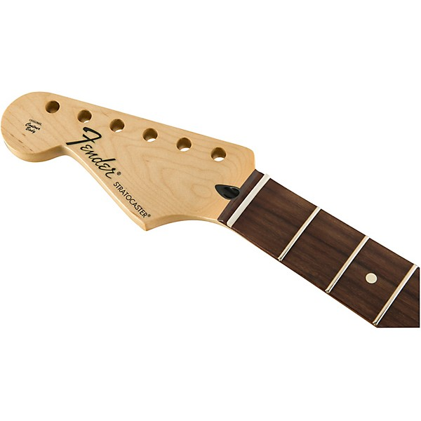 Fender Stratocaster Neck >> Fender Standard Series Left Handed Stratocaster Neck With Pau Ferro