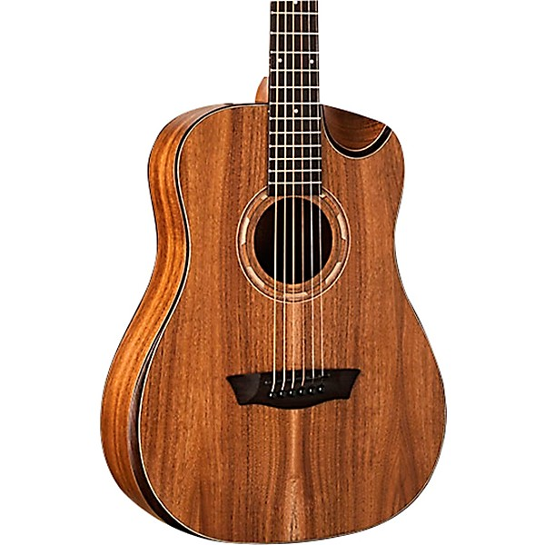 Guitars & Basses Musical Instruments & Gear Washburn Grand Auditorium Acoustic Electric Guitar Comfort Cutaway Natural Satin With Traditional Methods