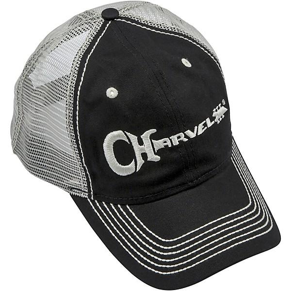 Charvel Logo Black//White Strap