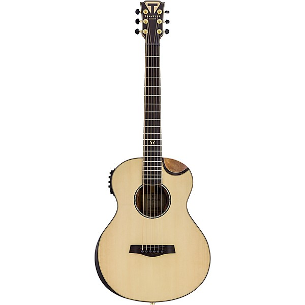 traveler guitar cl 3e compact acoustic electric guitar music arts. Black Bedroom Furniture Sets. Home Design Ideas