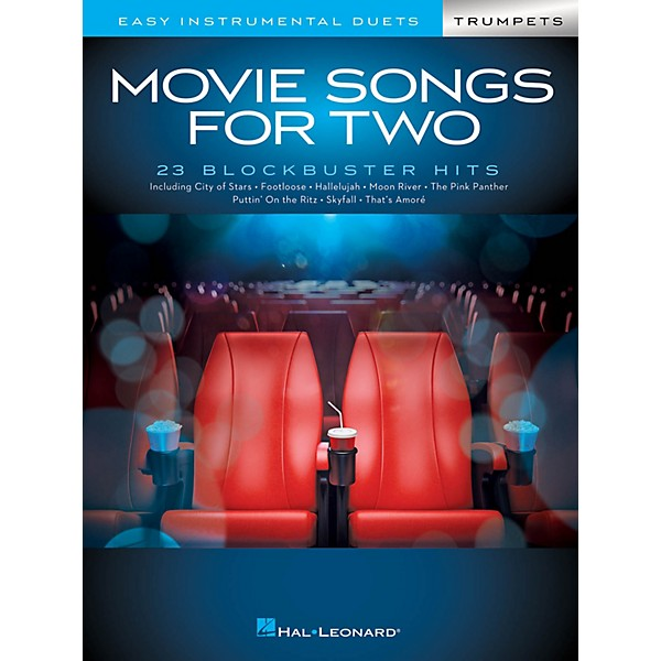 Hal Leonard Movie Songs for Two Trumpets - Easy Instrumental Duets