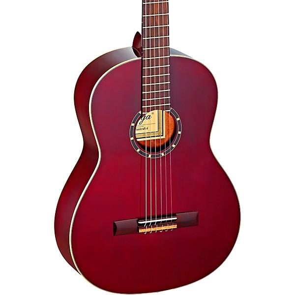 R131SN-WR Right Ortega Guitars Family Series Pro 6 String Classical Guitar