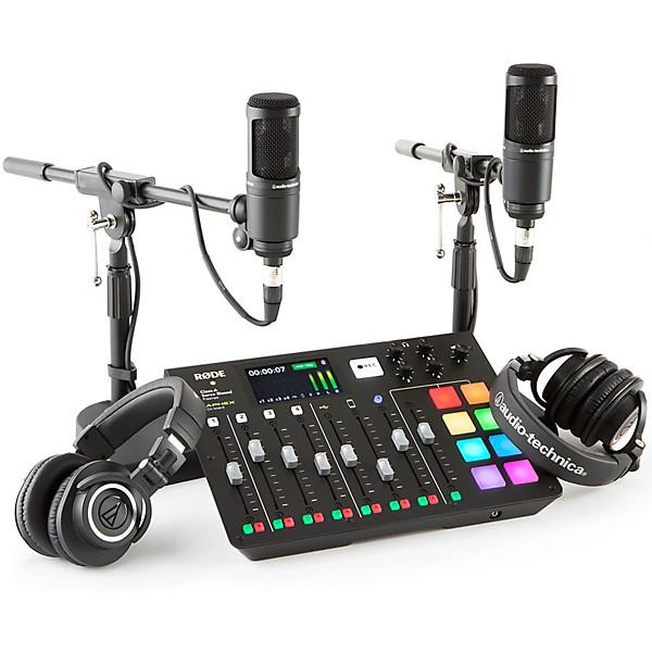 Rode Rodecaster Pro er utstyret du kan leie hos oss dersom du vil lage din egen podcast