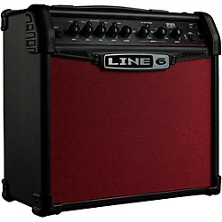 line 6 spider classic 15 15w 1x8 guitar combo amp red edition music arts. Black Bedroom Furniture Sets. Home Design Ideas