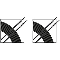 Live Wire Essential 16g Speaker Cable 1/4-1/4 2 Pack - 25 ft ...