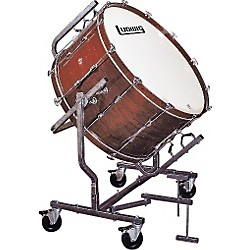Concert Bass Drum W LE788 Stand Black Cortex 16x32