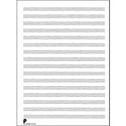 Blank Staff Paper Tablature Music Arts