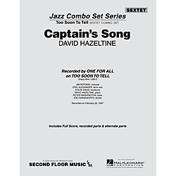 Second Floor Music Captainu0027s Song (from The ALL FOR ONE Sextet Combo  Series) Jazz